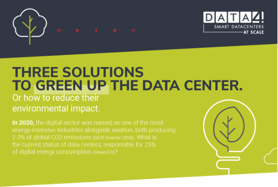 Three solutions to green up the data center