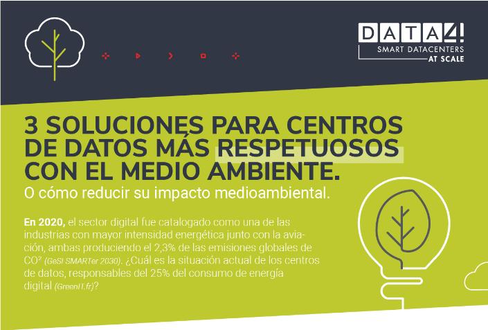 [White Paper] Tres soluciones para centros de datos más respetuosos con el medio ambiente.