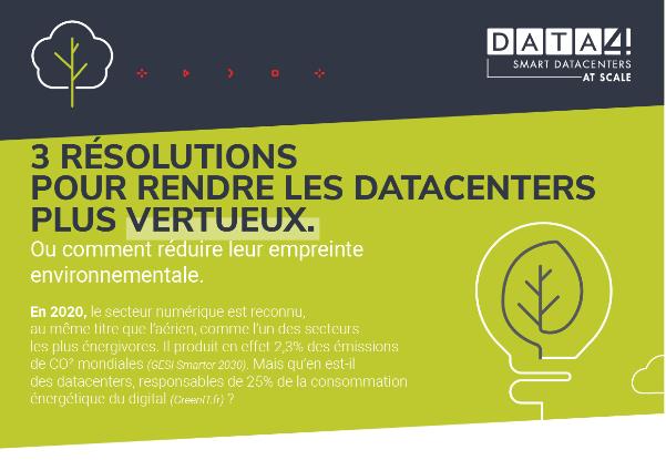 Infographie | Comment réduire l'empreinte environnementale des data centers ?